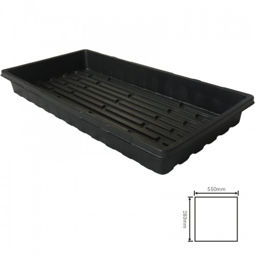 Hydroponic seedling planting plastic seedling carrying tray for greenhouse
