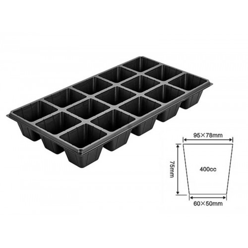 15 Cell Plug Tray